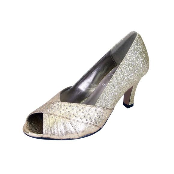 f6bfdb5be52a1 👠 FLORAL Grace Women Wide Width Dress Pump👠 Boutique